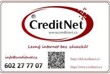 CreditNet / Levný internet bez smluvních závazků :) http://www.creditnet.cz