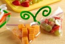 GOTTA LUV KIDS' SNACKS! / Snacks that will be fun to look at and fun to eat for the kiddos!  Some are healthy...some are not!  <3