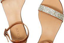 Ballerina och sandaler