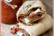 easy vegan pizza sauce and burrito s