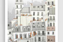 Artsy little houses