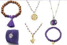 Amethyst February Birthstone  / Amethyst is a stone of the mind; it brings contentment, calmness and clarity, and helps you to get in touch with your intuition, feelings and values.