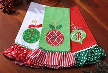 Monogram Christmas Items