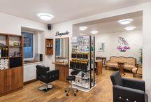 Interiér salonu / Interior hairsalon
