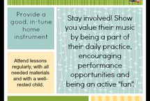 For Parents / Tips and tricks for parents who are trying to help their kiddos successfully learn an instrument.