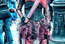 The Zombie Pride Parade is back!  / A Paris la marche des zombies. Arnauld Grassin Delyle Photography  http://grassindelyle.fr/