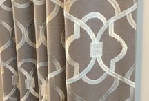 Window Treatments / Blinds, draperies, window accents for the home / by Lisa Stec
