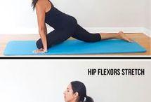Hip stretches
