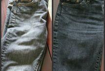 Crafts:  Jean Repair