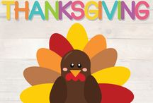 Thanksgiving / Thanksgiving activities and printables