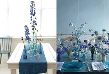 Indigo wedding ideas
