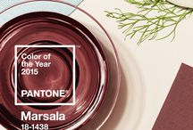 Marsala Color of the Year 2015