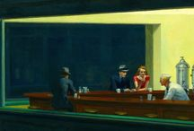 Edward Hopper in the city / Looking his psychological interiors