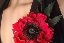 Květiny z kúže
