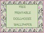 dolls house wallpaper