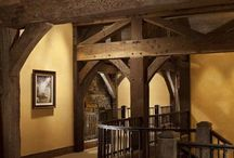 Timber Frame Inspiration / by LogFinish.com