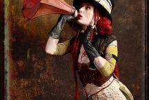 steampunk dieselpunk cyberpunk fantastic / by Elena Pasquini