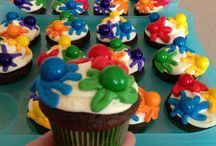 Paintball/Airsoft Party Ideas / Cake and party favor ideas for a Paintball or Airsoft Birthday Party.  We suggest sticking to cupcakes when bringing the party to the field for convenience. (less utensils needed and portions are already done for you)
