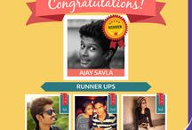 """Winner from """"Clicked with Closed Ones"""" fb Contest / Our #Winner is Ajay Savla for """"Click with your loved ones"""" #contest held at #Aahan 2015 .  And our #Runner ups are: 1) Gagan Bihani 2) Parth Shah 3) Siddhi Gawde"""