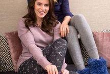 Knitted slipper sox
