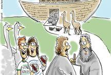 General Humor and Parody / Thirteenth Floor comic general humor and parody cartoons. Similar in style and humor to Gary Larson who created the Far Side single panel comic strip.  http://www.cafepress.com/thirteenthfloorcomic