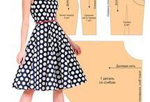 Платье с юбкой-клеш по Корфиати
