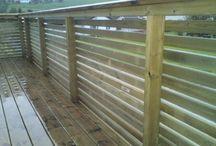 Levegg/balkong