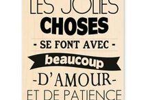 Jolies phrases