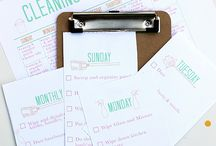 Cleaning schedule / by Shari Chapman