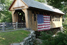 Covered Bridges / I love the rustic beauty of Covered Bridges.....