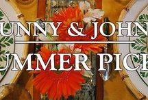 Bunny & John's Summer Picks / Here are some of Bunny & John's favorite pieces for summer decorating.