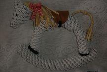 лошадка плетение