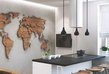 Térkép ötlet lakásba