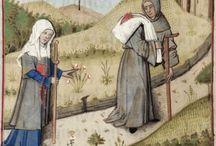 Medieval bags, sacks & pilgrim scrips