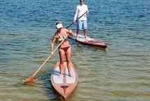 wood boats / sups