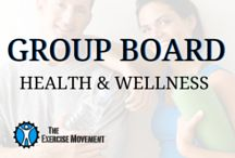 Health & Wellness Group Board / Sharing is caring! Share your healthy and wellness tips and tricks from exercise, to eating right, to living a happy life. Comment on a photo with your username to be added to this board.  / by The Exercise Movement