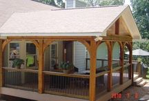 DIY Covered Deck Design Ideas / Covered deck and patio ideas!