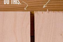 Wood, cutting plywood