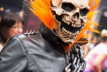 Скелет (Skeleton) / costumes, images, makeup, manicure, ideas