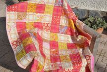 Quilts (I have made) / My recently finished patchwork pieces, most of them can be found on Etsy and Dawanda  / by skalabara quilts