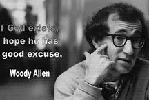 Woody Allen lines, quotes etc