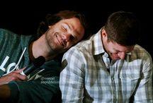 SPN❤ / Jensen & Jared & Misha & Mark = Supernatural family❤