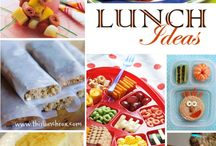 Recipes - Lunch Munchies / by Krisha Larson Hoffman