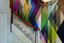 Architectural Geometrics / Space perception altering wall coverings - Printsource brief part 1