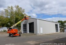 Storage Buildings / This board showcases well made steel storage buildings designed and erected by Steelsmith, Inc, the quality steel building contractor with erector teams all over the United States. Learn more about us at www.steelsmithinc.com