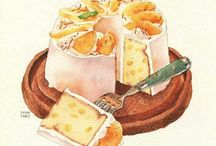 Illustration (Foods&Sweets)