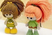 poupées laine