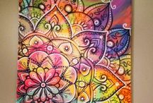 COLOURFUL DOODLES AND PAISLEYS