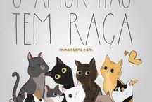 Ilustrações Felinas