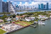 FOR SALE ~ 1045 N Venetian Drive / UNOBSTRUCTED PRIME VENETIAN ISLANDS WATERFRONT LOTS ON THE WIDE OPEN BAY...WITH PERMITTED PLANS FOR A MODERN VILLA! Enjoy 60 feet of Open Biscayne Bay views on 9,000 SF LOT. Opportunity to buy adjacent Land to build on for a Unique Double LOT with 18,000 SF and 120 feet of Water Frontage. Approved and permitted plans for 6 Bedroom, 6.5 Bathrooms + Cabana Bath with outdoor shower. 6,602 Interior SF Contemporary Home with elevator access to the Rooftop Deck for stunning sunsets. | $4,750,000